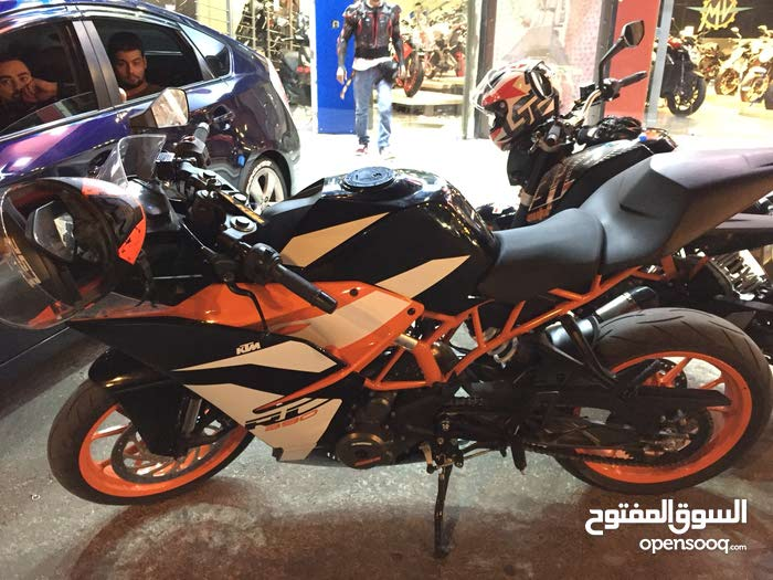 Buy a KTM motorbike directly from the owner