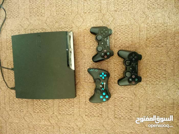A Playstation 3 device up for sale for video game lovers