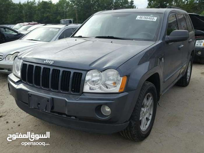 Blue Jeep Grand Cherokee 2007 for sale