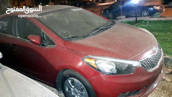 Automatic Red Kia 2015 for sale
