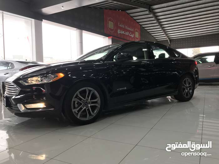 Black Ford Fusion 2017 For