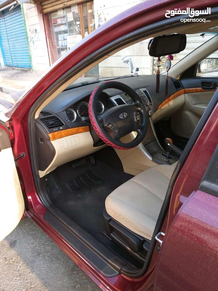 سيارة للبيع هونداي سوناتا موديل 2009 2400 CC