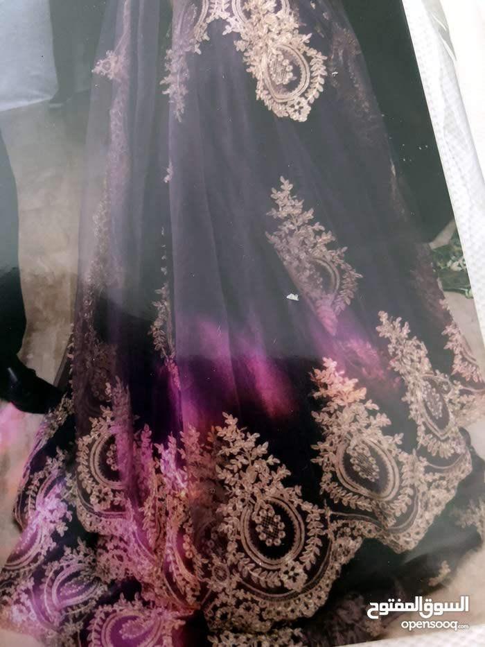 فستان خطبه لون نهدي