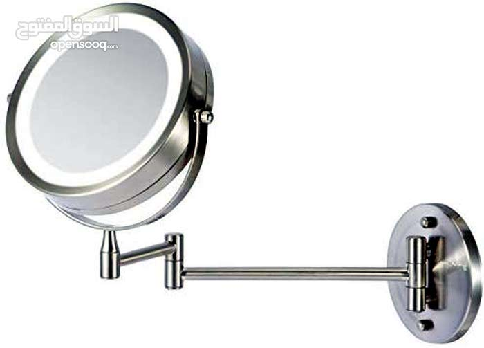 magnifying mirror for make up / wall mounted or bathroom for shaving.