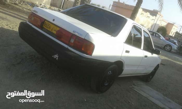 White Mazda 323 1993 for sale