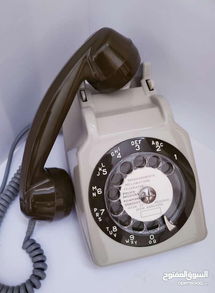 تلفون هاتف فرنسي أثري 1979قديم اصلي