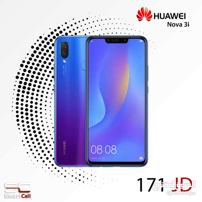 جهاز Huawei Nova 3i جديد للبيع
