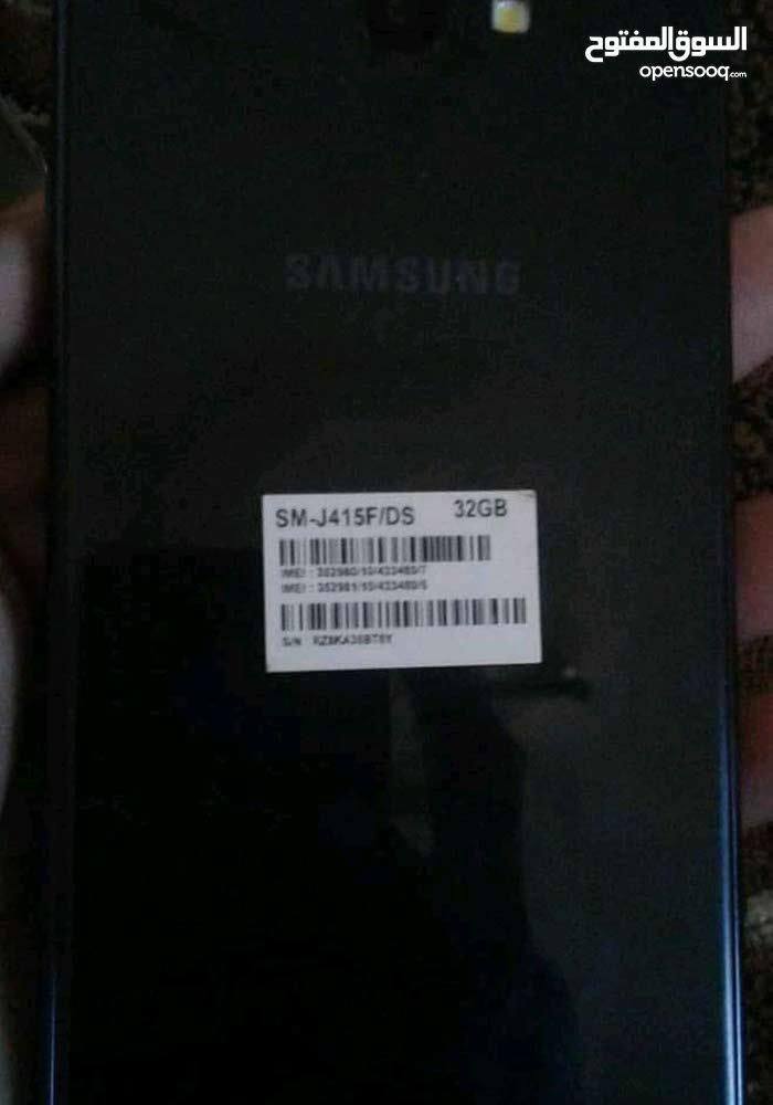 هاتف من نوع +Samsung J4 بحاله ممتازه   32gb