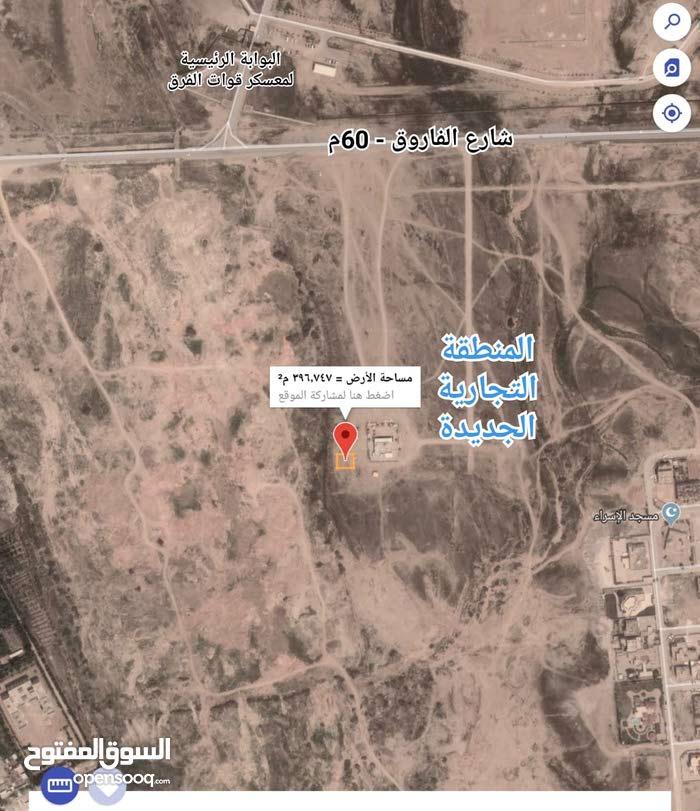 أرض تجاريه ركنيه بصحنوت مقابل معسكر قوات الفرق 400م