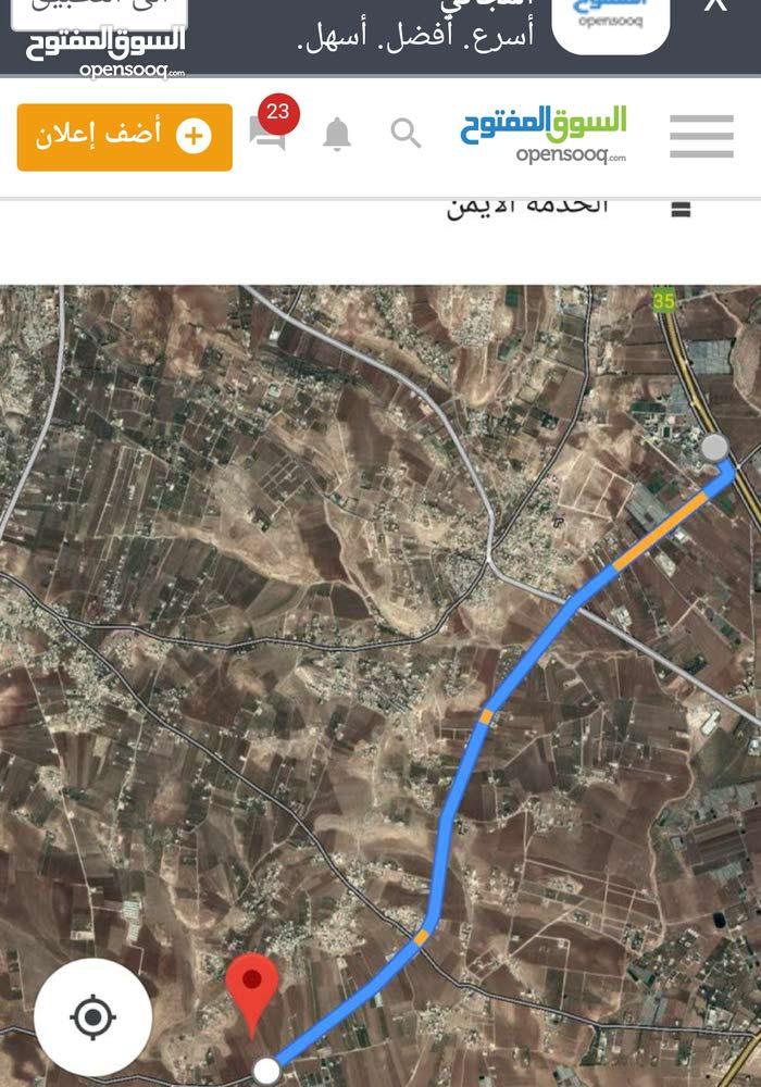 ارض للبيع 6500 متر مساحه رائعه لانشاء مزرعه طريق المطار 7 كيلو خلف جامعة الزيتونه في السامك