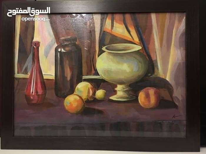 مطلوب اعفاء جمركي للبيع لغاية 12500 دينار ولوحات فنية للبيع اللوحة ب 250 دينار