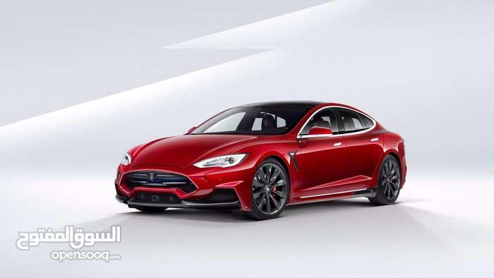 For sale Tesla S car in Amman