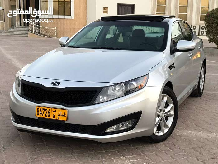 Kia Optima 2012 For sale - Silver color