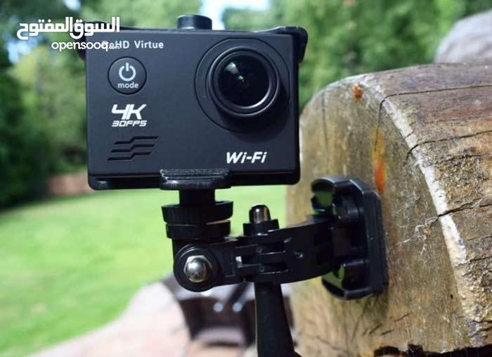اكشن كاميرا 4k للتصوير تحت الماء والمغامرات