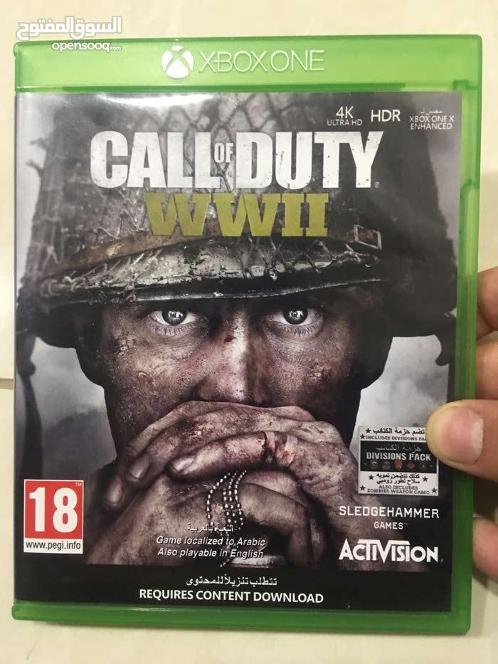 call of duty ww2 عربي شبه جديد