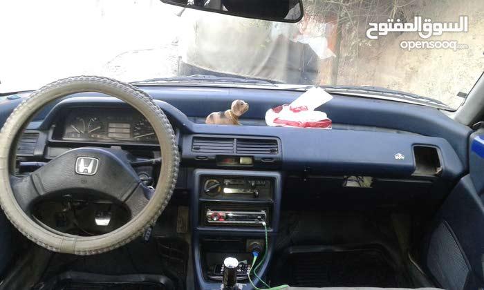 Manual Honda Civic 1989
