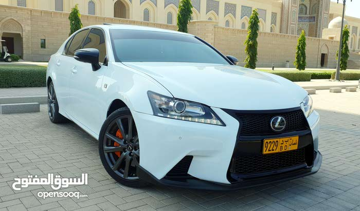 Used condition Lexus GS 2015 with 50,000 - 59,999 km mileage