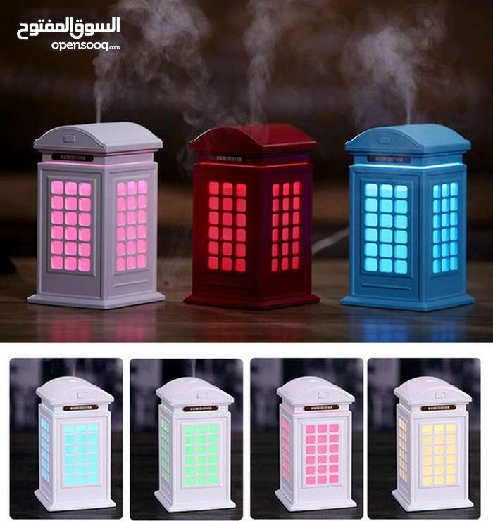 Telephone booth humidifier