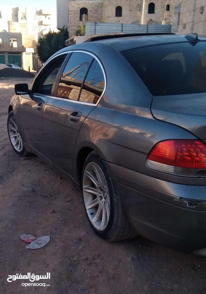 لعشاق الفخااااامه BMW 745I