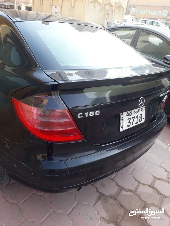 Available for sale! 1 - 9,999 km mileage Mercedes Benz C 180 2003