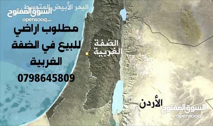 مطلوب اراضي في الضفة الغربية من المالك مباشره