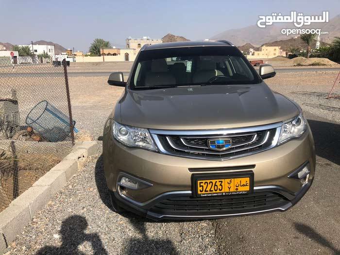 2017 New Emgrand X7 with Automatic transmission is available for sale