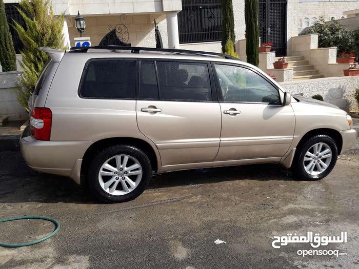 Toyota Highlander car for sale 2006 in Amman city