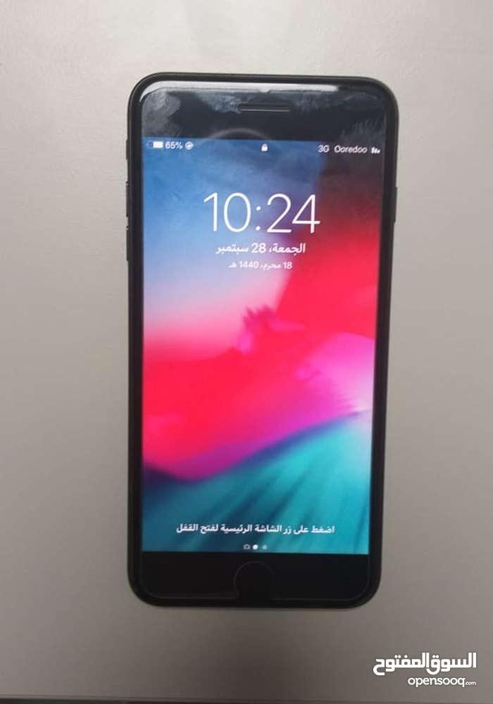 ايفون 7+ اسود مطفي 128 جيبي