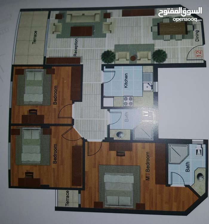 apartment of 145 sqm for sale