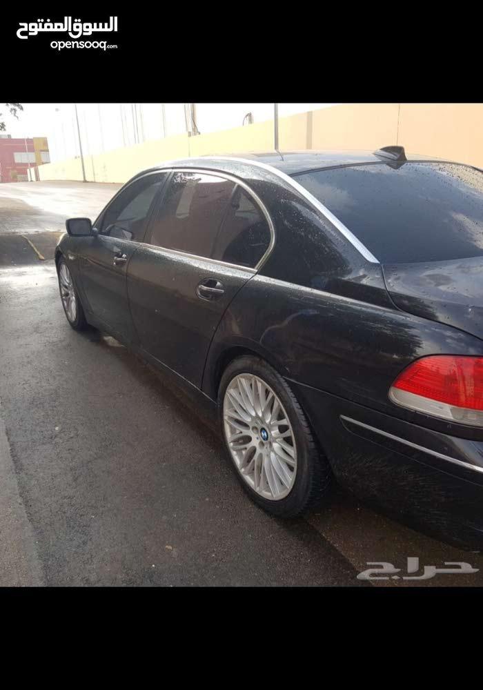 Black BMW 750 2006 for sale