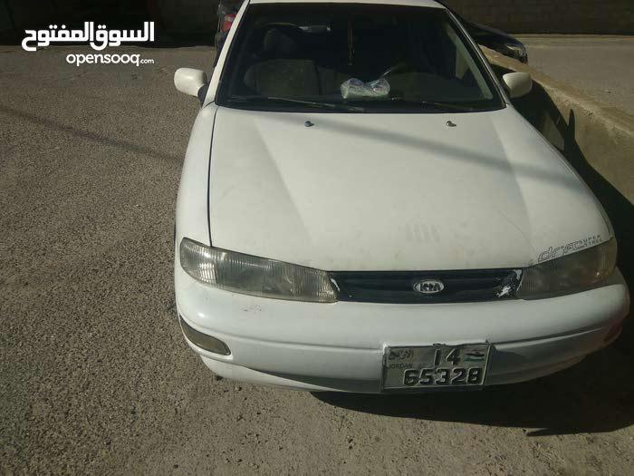 Automatic White Kia 1996 for sale