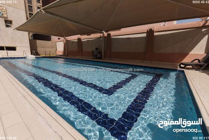 Salmiya 2 bedrooms furnished apartment w/pool