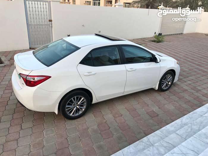 For sale 2014 White Corolla