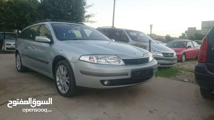 Automatic Silver Renault 2003 for sale
