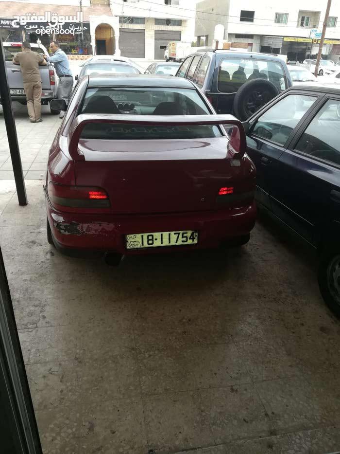 Manual Red Subaru 1997 for sale