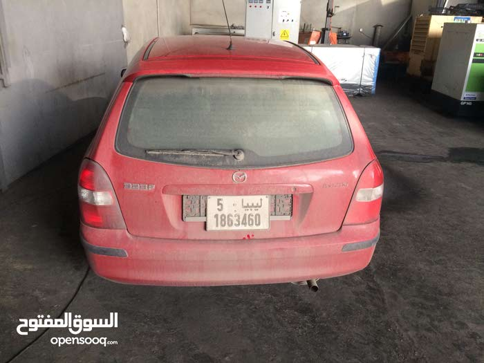 Manual Red Mazda 2003 for sale