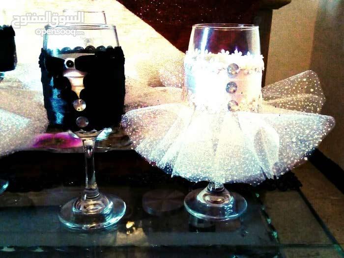 كؤوس للعرسان خطوبة وزفاف