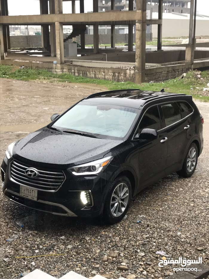 Automatic Black Hyundai 2017 for sale