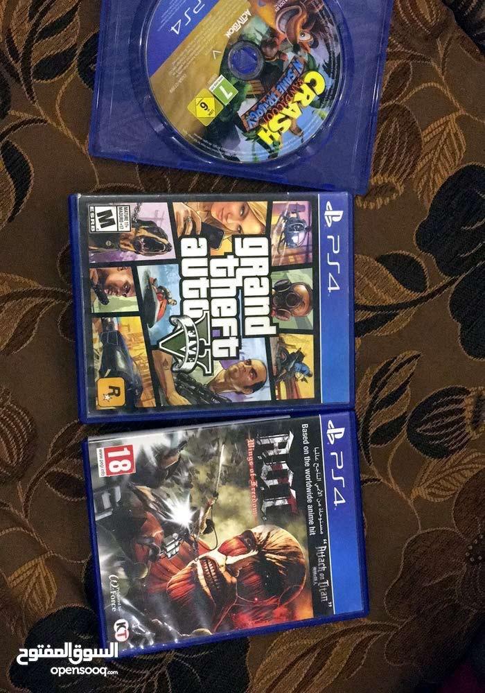 العاب للبيع PS4