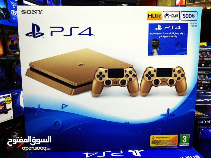 Ps4 500gb slim console with 2 controller