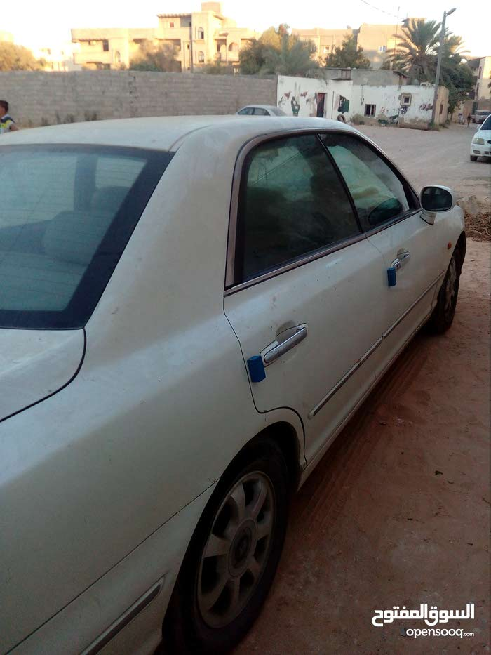 Gasoline Fuel/Power   Hyundai Azera 2001