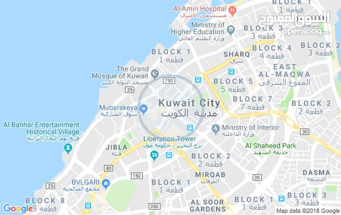 apartment for rent in Kuwait City city Surra