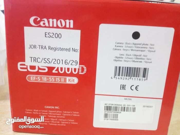 كاميرا 2000D للبيع