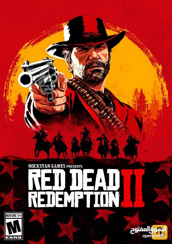 للبيع لعبه red dead