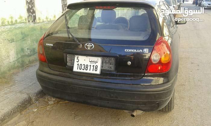Toyota Corolla car for sale 1998 in Tripoli city