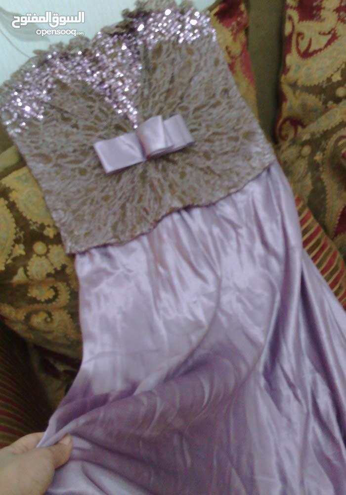 فستان جديد لون موف تركي