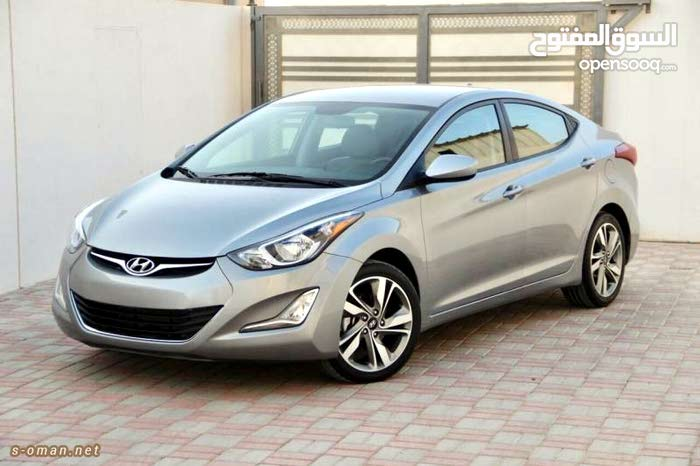 For a Day rental period, reserve a Hyundai Avante 2016