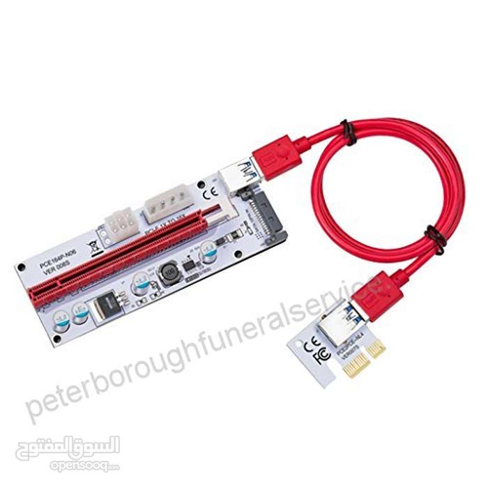 Risers, PCI-E Epxress cable 1x to 16x