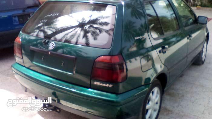 Volkswagen Golf car for sale 1998 in Tripoli city