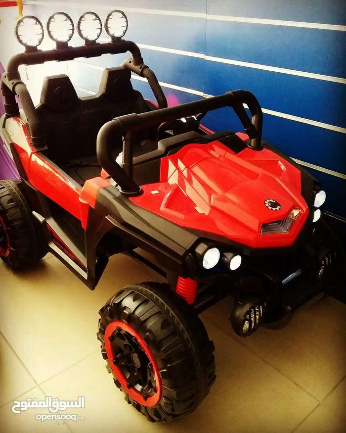 سيارات اطفال كهربائية 2 مقعد قيادة ذاتية + ريموت